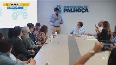 Empresários visitam SC para conhecer as práticas de inovações nas cidades catarinenses - Empresários visitam SC para conhecer as práticas de inovações nas cidades catarinenses