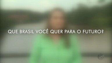 Veja como produzir seu vídeo: 'Que Brasil Você Quer Para o Futuro'? - Veja como produzir seu vídeo: 'Que Brasil Você Quer Para o Futuro'?