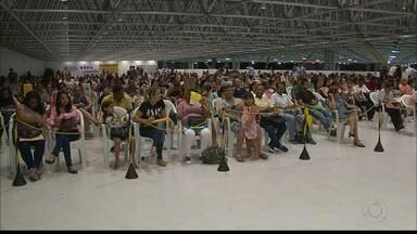 Inscrições do processo seletivo do Hospital Metropolitano da Paraíba geram grandes filas - Inscrições foram feitas até ontem, no Espaço Cultural.