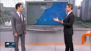 Chuva continua em São Paulo - Hoje (26) e amanhã ainda terão mais chuva na capital. No domingo, o calor volta com pancadas de chuva à tarde