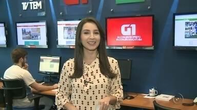 Mayara Corrêa traz os destaques do G1 Rio Preto e Araçatuba - No TEM Notícias desta sexta-feira (26), Mayara Corrêa traz os destaques do G1 Rio Preto e Araçatuba.