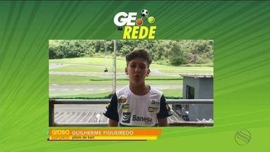 GE na Rede: Guilherme Figueiredo fala de preparação para temporada 2018 no kart - Sergipano vai disputar 1ª etapa da Copa São Paulo Light e neste ano muda de categoria.