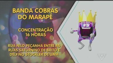 Carnabanda começa nesta sexta-feira em Santos - Confira a programação de apresentações das bandas carnavalescas.