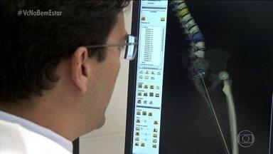 Exame ajuda a entender o funcionamento do corpo - O exame está ajudando os médicos a entenderem melhor o funcionamento do corpo na hora de tratar o paciente ou até para planejar uma cirurgia.