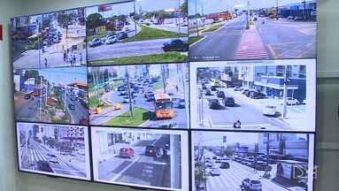 Novas câmeras estão sendo instaladas para monitorar o trânsito de São Luís - Diferença é que antes algumas infrações que só eram registradas pelos agentes de trânsito e agora serão gravadas e o condutor vai receber a multa em casa.
