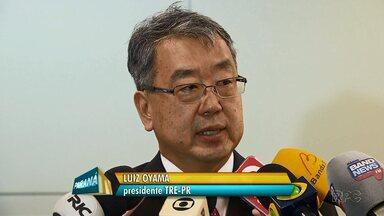 Desembargador Luiz Oyama toma posse como novo presidente do TRE - Oyama já trabalhou como juiz em várias cidades do estado.