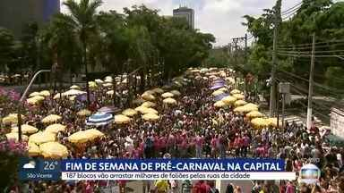 Começa hoje o carnaval de São Paulo - 187 blocos vão para as ruas da Capital neste fim de semana.