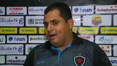 Sem tempo para treinar, Botafogo-PB deve colocar em campo time alternativo contra o Lobo - Leston Júnior avisa que depende da avaliação do departamento de fisiologia para definir time que enfrenta o Serrano