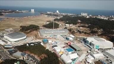 Coreia do Sul se prepara para receber olimpíadas de inverno - Coreia do Sul se prepara para receber olimpíadas de inverno.