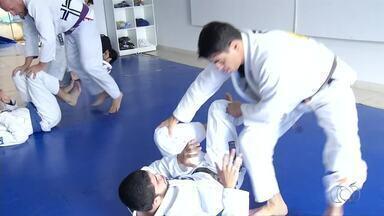 Lutadores de jiu-jítsu do estado estão de olho no Brasileiro - Lutadores de jiu-jítsu do estado estão de olho no Brasileiro
