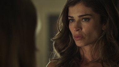 Lívia fica chocada ao descobrir que a mãe mandou atropelar Raquel - Gustavo pede mais dinheiro a Sophia para conduzir a audiência da guarda de Tomaz