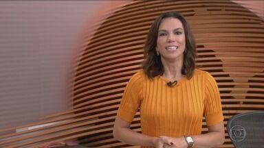 Bom Dia Brasil - Íntegra 06 Fevereiro 2018 - O telejornal, com apresentação de Chico Pinheiro e Ana Paula Araújo, exibe as primeiras notícias do dia no Brasil e no mundo e repercute os fatos mais relevantes.