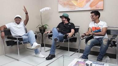 Bahia Folia: G1 traz entrevista exclusiva com o novo vocalista do Chiclete com Banana - Veja a entrevista completa em g1.com.br/bahia.