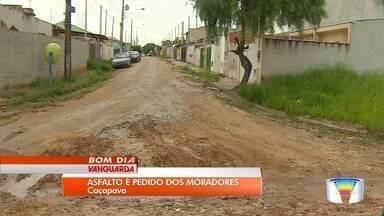 Moradores de Caçapava reclamam de ruas esburacadas - Imagens foram enviadas pelo app Vanguarda Repórter.