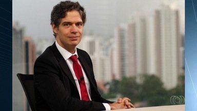 Ricardo Amorim, apresentador da Globo News, participa de evento em Goiânia - Economista e apresentador do programa Manhattan Connection, ele falará para público ligado a agricultura e pecuária.