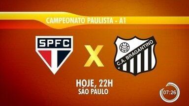 Times da região entram em campo pelo Paulistão - Atibaia, Manthiqueira e Bragantino jogam nesta quarta.