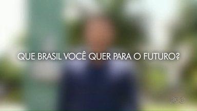 Que Brasil você quer para o futuro? Veja como mandar o seu vídeo - g1.com.br/brasilqueeuquero