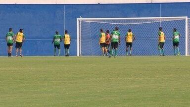 Time do Manaus faz treino antes de duelo - Jogo será contra o CSA na Arena da Amazônia