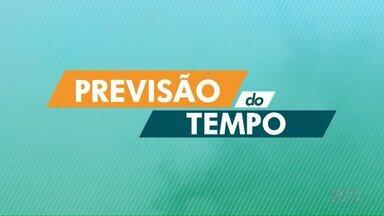 Temperaturas continuam altas em Londrina - Segunda previsão do tempo, não deve chover nos próximos dias