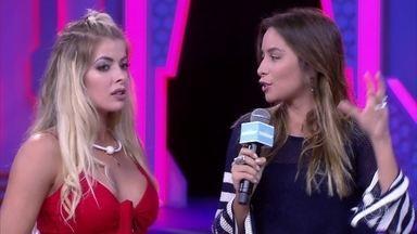 Marcela Monteiro bate um papo com Jaqueline, eliminada no BBB 18 - Ex-sister fala sobre a sua saída do jogo