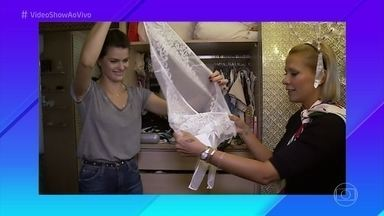 Selfie da Verdade: Isabeli Fontana abre o closet de para Mônica Salgado - Modelo mostra o que gosta de usar quando está em casa