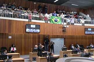 Câmara de Mogi aprova limitador de 10% para reajuste do IPTU 2018 - Sessão ficou suspensa por uma hora e meia.