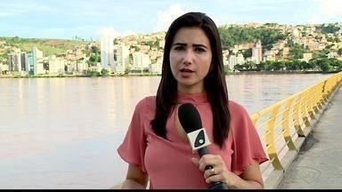 Nível do Rio Doce volta a subir em Colatina, ES - Nível havia abaixado um pouco, mas voltou a subir.