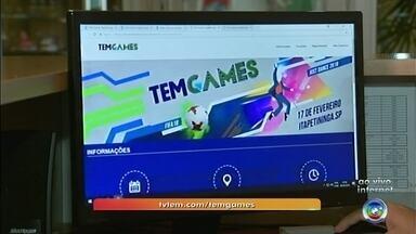Inscrições para o Tem Games terminam nesta sexta-feira em Itapetininga - As inscrições para o Tem Games na região de Itapetininga terminam nesta sexta-feira (9). O repórter Bruno Casteletto tem mais informações.