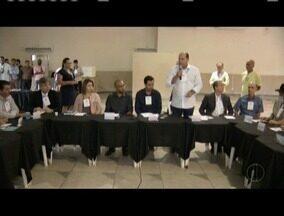Terceira reunião do fórum permanente de prefeitos do Rio Doce é realizada em Valadares - No encontro, deram continuidade aos debates sobre impactos do rompimento da barragem de Fundão.