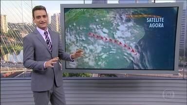 Confira a previsão do tempo para todo o Brasil - Veja a previsão do tempo para o feriado de carnaval. Previsão de chuva forte em Palmas, Belém, Macapá e São Luís.