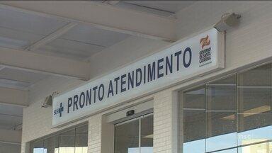 Funcionários do Hospital Florianópolis encerram greve após um dia de mobilização - Funcionários do Hospital Florianópolis encerram greve após um dia de mobilização