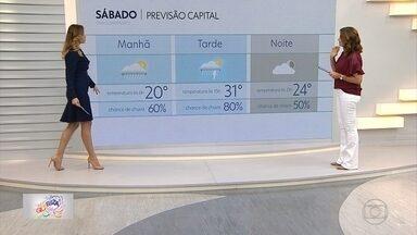 Sábado de carnaval será de chuva em Belo Horizonte - Veja a previsão do tempo para todos os dias da folia na capital mineira e no estado.