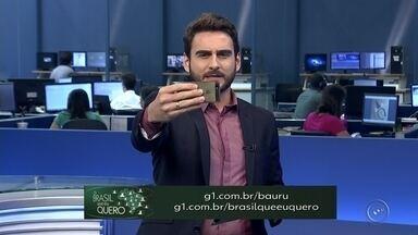 Saiba como gravar seu vídeo para a campanha 'O Brasil que eu quero' - Neste ano, mais de 140 milhões de eleitores voltam às urnas para escolher o novo presidente do Brasil e nós queremos ouvir o que os brasileiros esperam para o futuro. Grave o seu vídeo.