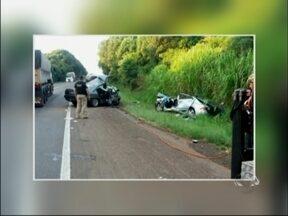Três pessoas morrem em acidente na BR 386 em Almirante Tamandaré do Sul, RS - Outras ficaram feridas e estão internadas no hospital de Carazinho, RS