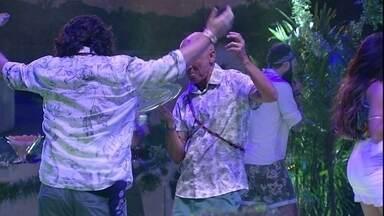 Diego canta animado na Festa Amazônia - Diego canta animado na Festa Amazônia