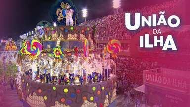 Resultado de imagem para Desfile completo uniao da ilha 2018
