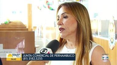 Prazo para atualização de empresas sem funcionamento há 10 anos vai até 28 de fevereiro - Lista com 12 mil empresas está disponível no site da Junta Comercial de Pernambuco. Empreendedores podem ter o registro cancelado e perder o direito ao nome empresarial.