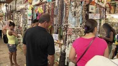 Mercado Modelo de Salvador é lugar obrigatório para os turistas na capital baiana - Em 2010, Ana Maria Braga e Louro José chegaram a fazer um 'Mais Você' especial diretamente do tradicional mercado