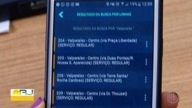 É lançado em Petrópolis, RJ, aplicativo que mostra quando o ônibus chegará no ponto - Aplicativo pretende facilitar a vida de quem depende do transporte público.