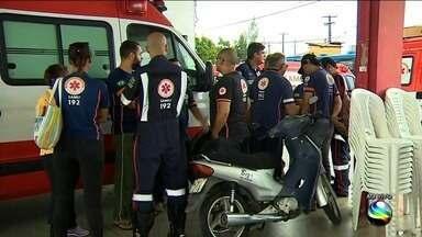 Samu em Sergipe vai paralisar alguns atendimentos por 24h - Sindicato dos condutores de ambulâncias e técnicos de enfermagem reivindicam reajuste salarial e o recebimento do salário sem atrasos.