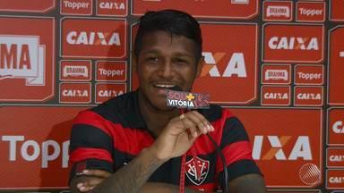 Vitória apresenta novo meio-campo nesta quarta-feira (14) - O jogador Rodrigo Andrade tem 20 anos e veio do Paysandu.