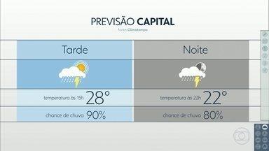 Segunda-feira tem a cara do verão, com calor e previsão de chuva - Próximos dias também devem ser assim na Grande São Paulo.