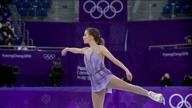 Veja a apresentação de Isadora Williams na patinação artística em PyeongChang