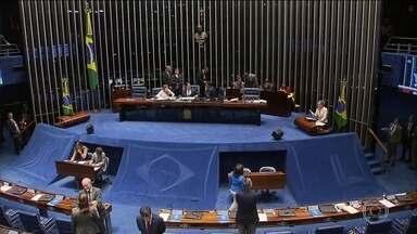 Jornal da Globo - Edição de Terça-feira 20/02/2018 - Senado aprova intervenção federal na segurança pública do Rio. Senado aprova intervenção federal na segurança pública do Rio. E mais as notícias do dia.