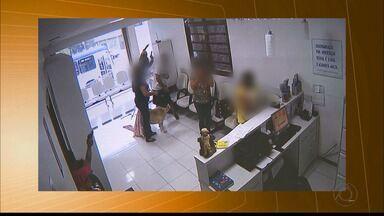 Assaltante é baleado durante assalto a uma clínica veterinária, em Campina Grande - Um policial militar estava no local e reagiu.