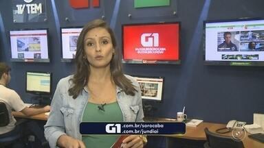 Confira os destaques do G1 Sorocaba e Jundiaí com a repórter Natália de Oliveira - Natália de Oliveira traz os destaques do G1 Sorocaba (SP) e Jundiaí (SP) desta quarta-feira (21).