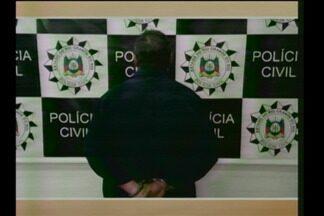 Preso o principal suspeito de homicídio em Entre-Ijuís, RS - O homem está no Presídio de Santo Ângelo, RS, desde a noite de terça-feira (20/02).