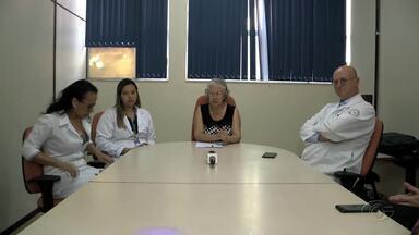 Diretoria do HU fala sobre dificuldades estruturais em coletiva - Entre outros assuntos foram discutidos, a dificuldade de estrutura para atender os pacientes e também sobre a morte dos trigêmeos prematuros nascidos na maternidade do Hospital Universitário.