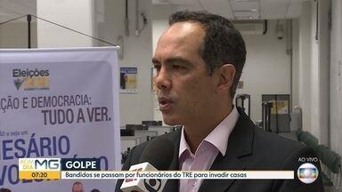 TRE faz alerta de golpistas que se passam por funcionários do órgão para entrar em casas - Veja a entrevista com o chefe do cartório Vinicius Vasconcelos.