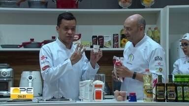 Festival gastronômico ensina receitas e truques para quem quer fazer bonito na cozinha - Evento ocorre no Shopping Center Recife